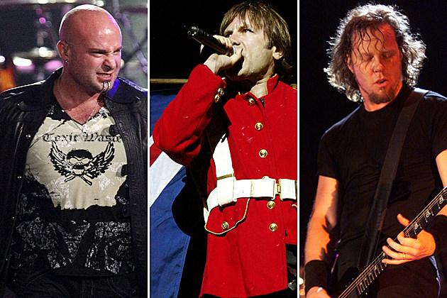 Disturbed-Iron Maiden-Metallica