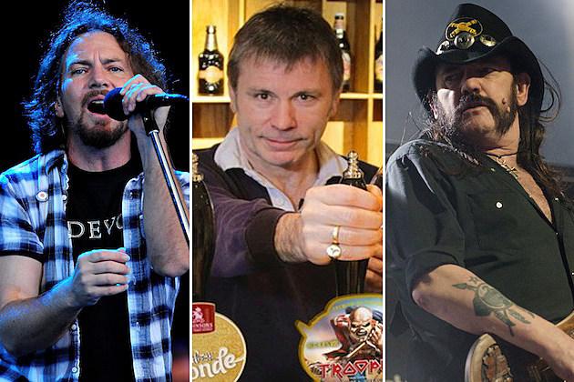 Eddie Vedder / Bruce Dickinson / Lemmy Kilmister