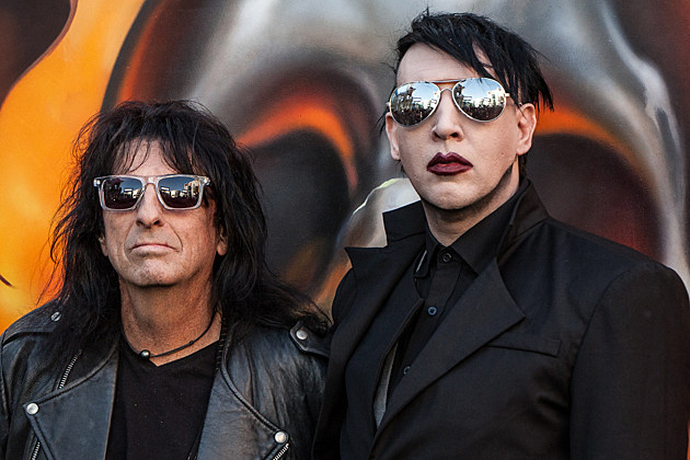 Marilyn Manson und Alice Cooper im Interview
