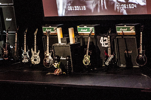 Jeff Hanneman Guitar Shrine
