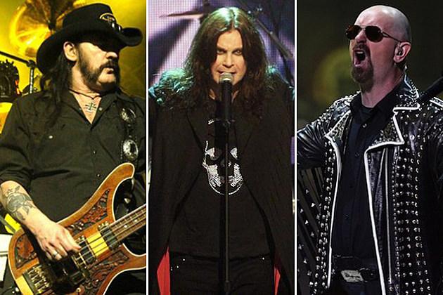 Lemmy Kilmister-Ozzy Osbourne-Rob Halford