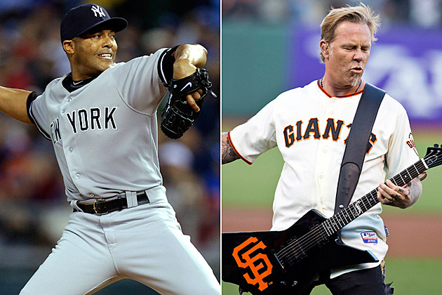 Mariano Rivera-James Hetfield