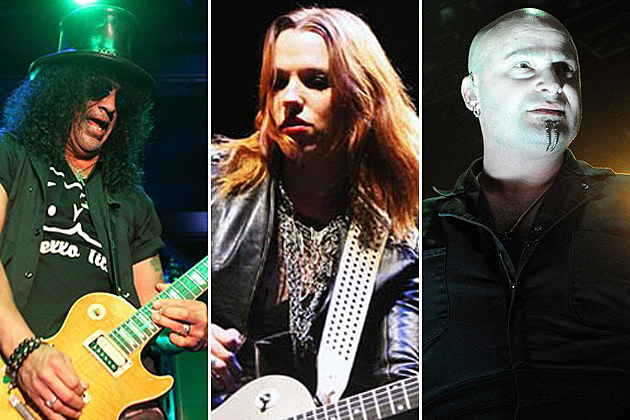 Slash-Halestorm-David Draiman