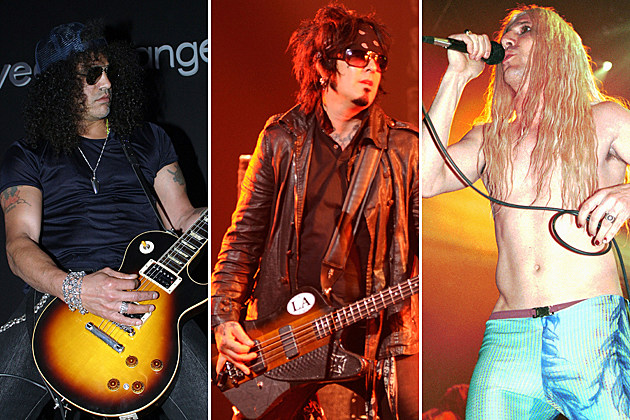 Slash-Nikki Sixx-Maynard James Keenan