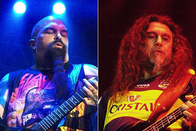 Slayer Kerry King Tom Araya