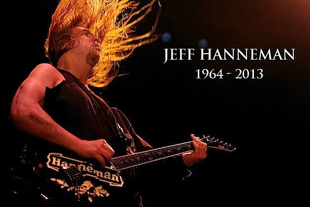 Jeff Hanneman 2013 Slayer's jeff hanneman, 1964-