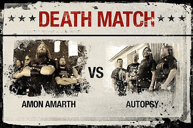 Amon Amarth vs. Autopsy
