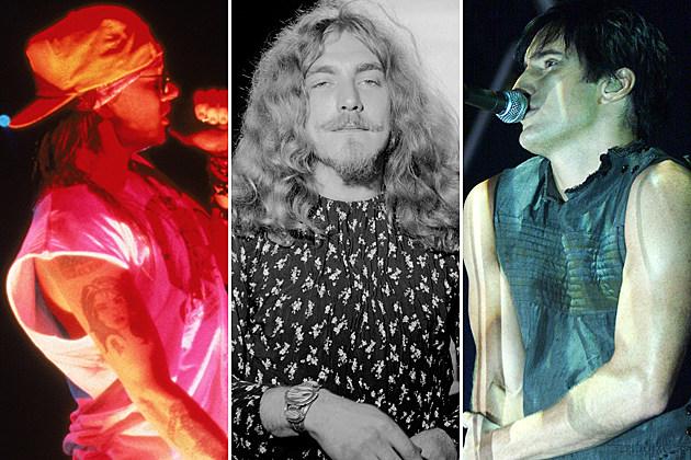 Axl Rose-Robert Plant-Trent Reznor