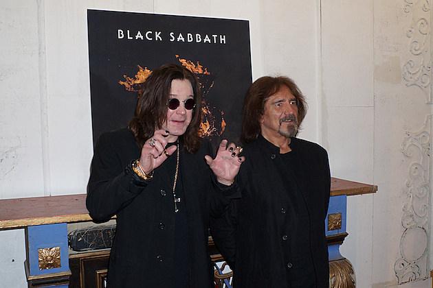 Ozzy Osbourne Geezer Butler Black Sabbath