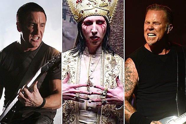 Trent Reznor / Marilyn Manson / James Hetfield