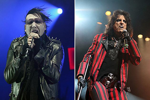 Marilyn Manson + Alice Cooper