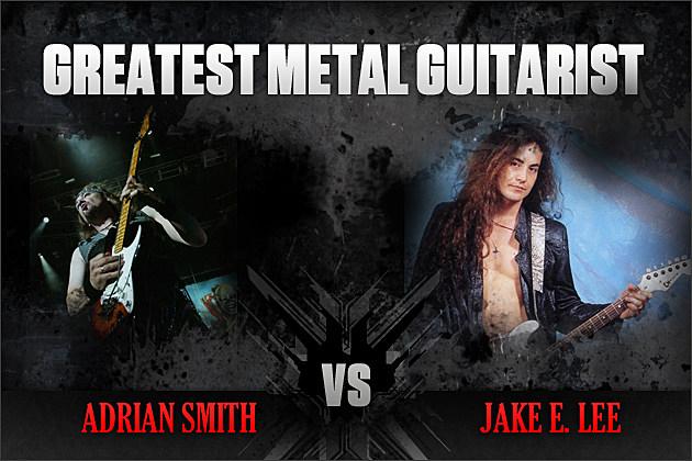 Adrian Smith vs. Jake E. Lee