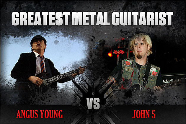 Angus Young vs. John 5
