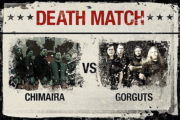 Chimaira vs. Gorguts