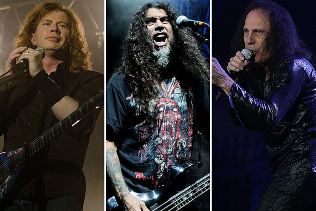 Dave Mustaine / Tom Araya / Ronnie James Dio