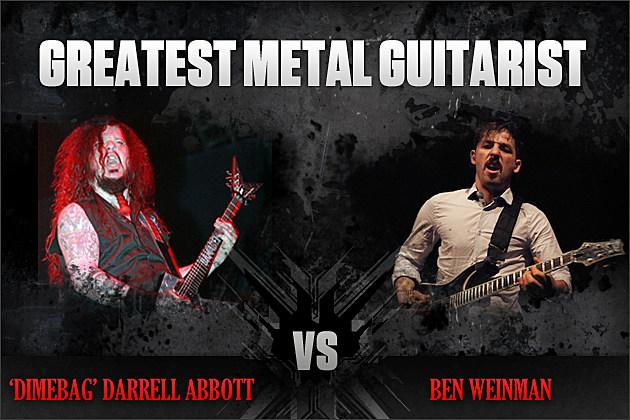 Dimebag Darrell Abbott vs. Ben Weinman