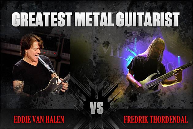 Eddie Van Halen vs. Fredrik Thordendal