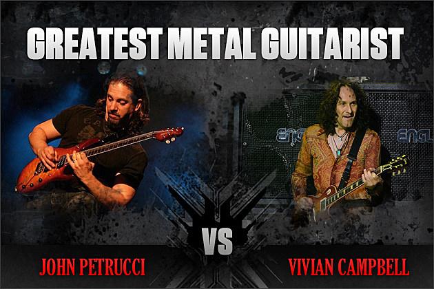 John Petrucci vs. Vivian Campbell