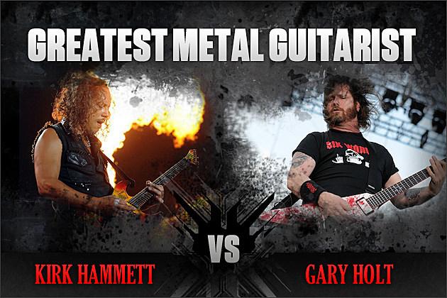 Kirk Hammett vs. Gary Holt