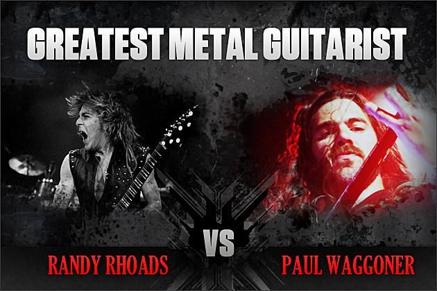 Randy Rhoads vs. Paul Waggoner