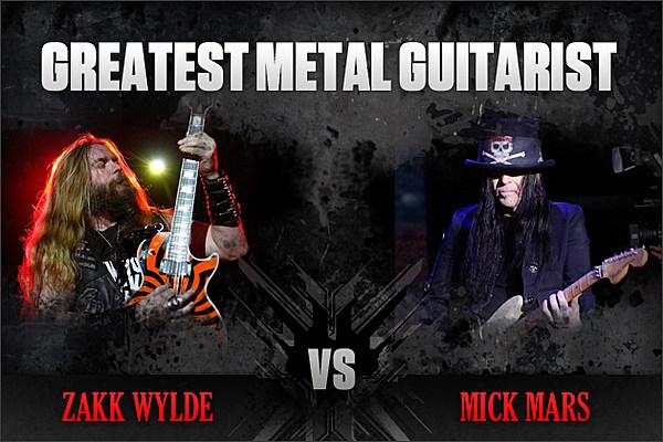 Zakk Wylde vs. Mick Mars – Greatest Metal Guitarist, Round 1