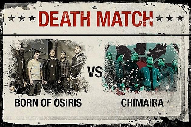 Born of Osiris vs. Chimaira