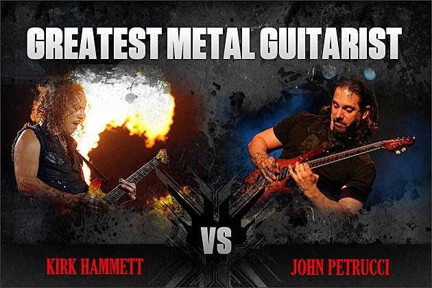 Kirk Hammett vs. John Petrucci