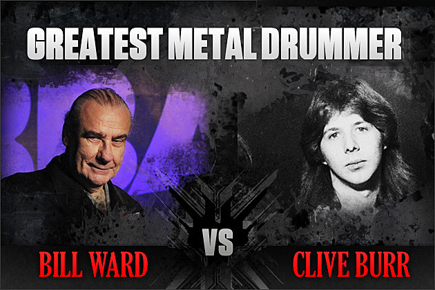 Bill Ward vs. Clive Burr