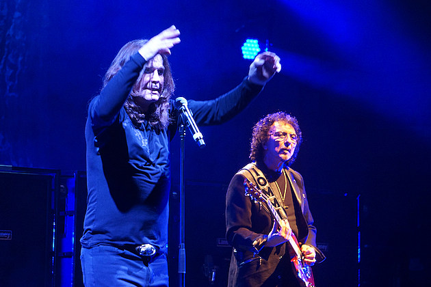 Black Sabbath Ozzy Osbourne and Tony Iommi