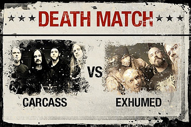 Carcass vs. Exhumed