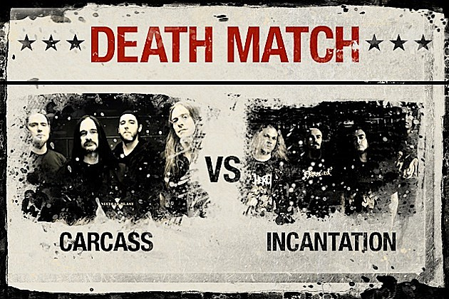 Carcass vs. Incantation