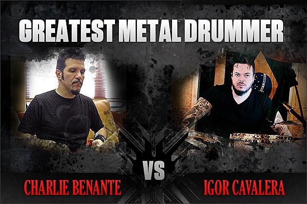 Charlie Benante vs. Igor Cavalera