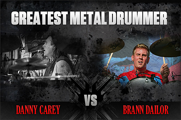 Danny Carey vs. Brann Dailor
