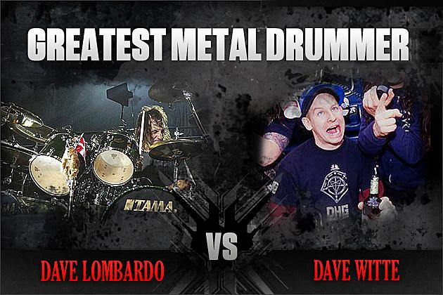 Dave Lombardo vs. Dave Witte