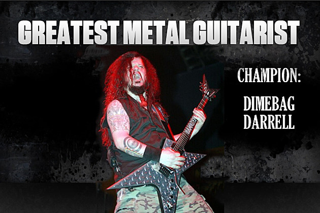 Dimebag Darrell Greatest Metal Guitarist Champion