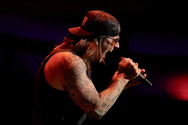 M Shadows 2013 Mohawk Avenged Sevenfold's M....