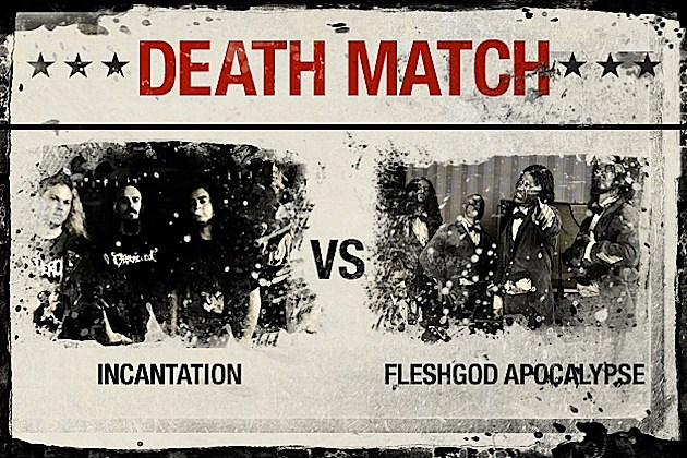 Incantation vs. Fleshgod Apocalypse