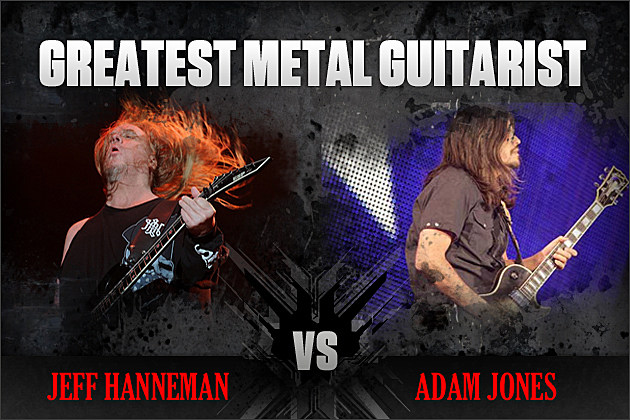 Jeff Hanneman vs. Adam Jones