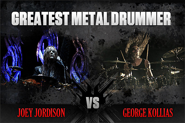 Joey Jordison vs. George Kollias