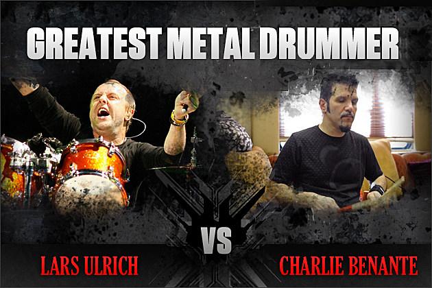 Lars Ulrich vs. Charlie Benante