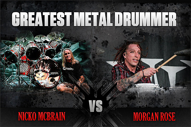 Nicko McBrain vs. Morgan Rose