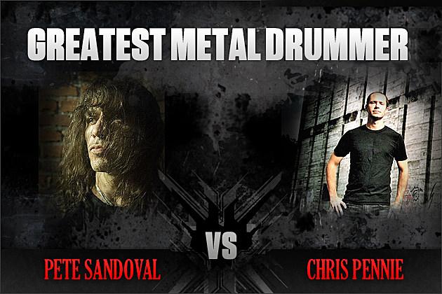 Pete Sandoval vs. Chris Pennie