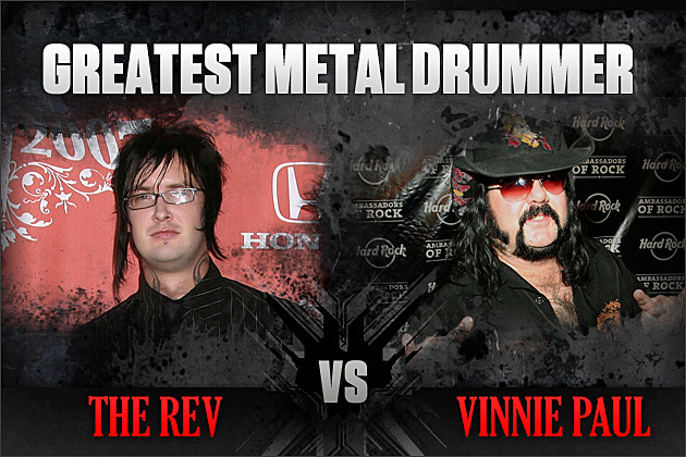 The Rev vs. Vinnie Paul