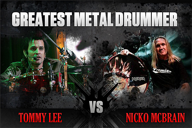 Tommy Lee vs. Nicko McBrain