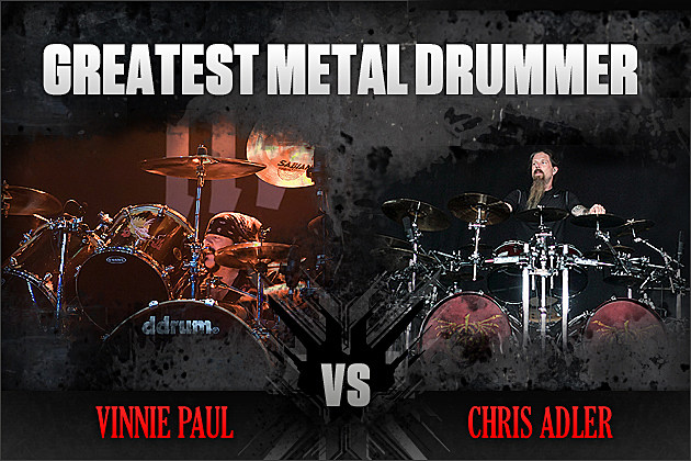 Vinnie Paul vs. Chris Adler