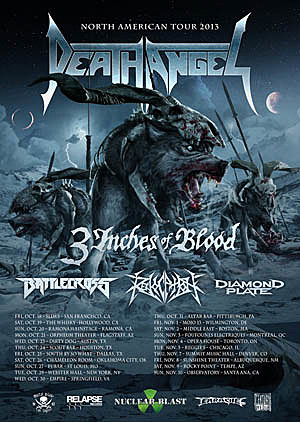 Death Angel Tour Poster