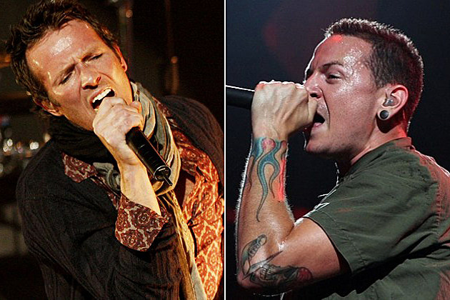 Scott Weiland and Chester Bennington