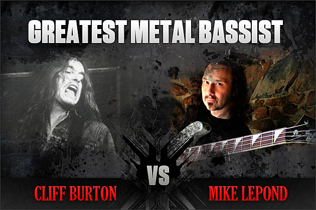 Cliff Burton vs. Mike LePond