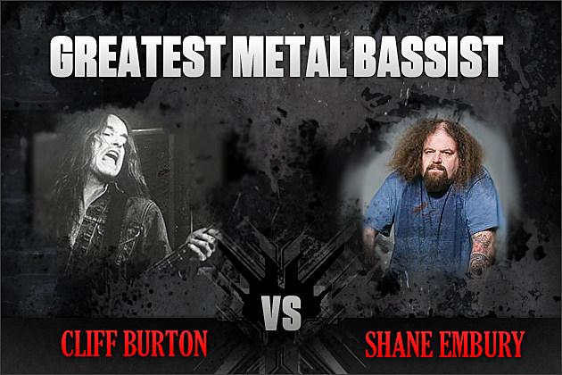 Cliff Burton vs. Shane Embury