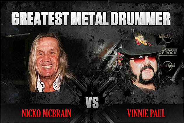 Nicko McBrain vs. Vinnie Paul